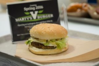 All About Marty's V Burger! (Sponsored)